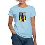 Black Cat Halloween Women's Light T-Shirt