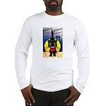 Black Cat Halloween Long Sleeve T-Shirt