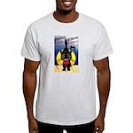 Black Cat Halloween Light T-Shirt