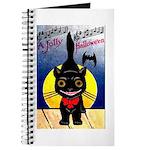 Black Cat Halloween Journal