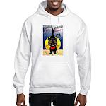 Black Cat Halloween Hooded Sweatshirt