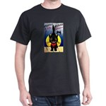 Black Cat Halloween Dark T-Shirt