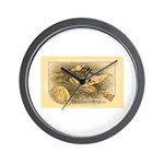 Flying Witch Wall Clock
