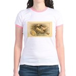 Flying Witch Jr. Ringer T-Shirt