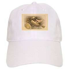Flying Witch Baseball Cap