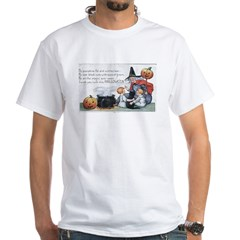 Witch & Cauldron White T-Shirt