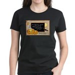Halloween Wizards Women's Dark T-Shirt