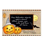 Halloween Wizards Postcards (Package of 8)