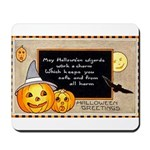 Halloween Wizards Mousepad