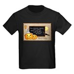 Halloween Wizards Kids Dark T-Shirt