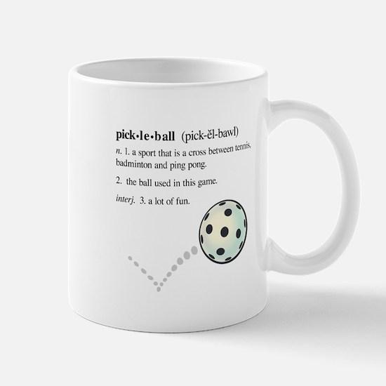 pickleball definition with ba Mug