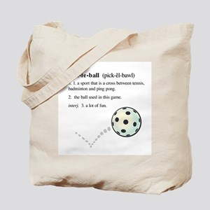pickleball definition with ba Tote Bag