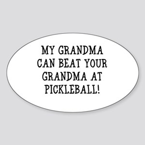 Grandma Oval Sticker