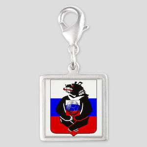 Russian Football Bear Charms