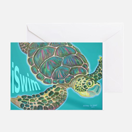 iSwim Greeting Card