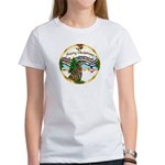 XmasMusic1MC/Greyhound Women's T-Shirt