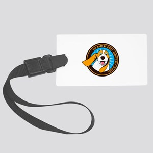 Dog make me happy,People, Not so Large Luggage Tag