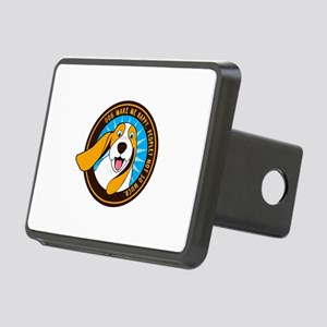 Dog make me happy,People, Rectangular Hitch Cover