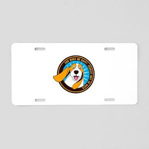 Dog make me happy,People, N Aluminum License Plate