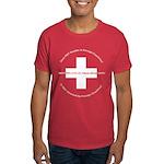 Swiss Cross/Peace Men's Dark T-Shirt