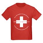Swiss Cross/Peace Kids Dark T-Shirt