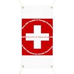 Swiss Cross/Peace Banner