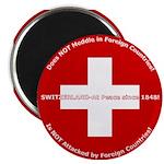 Swiss Cross/Peace Magnet