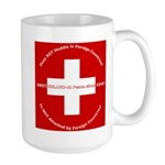 Swiss Cross/Peace Large Mug