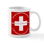Swiss Cross/Peace Mug
