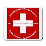 Swiss Cross/Peace Mousepad