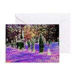 Vermont Graveyard Greeting Card