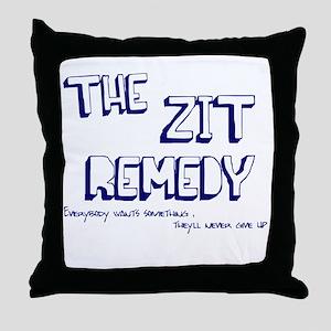 Zit Remedy Throw Pillow