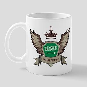 Saudi Arabia Emblem Mug