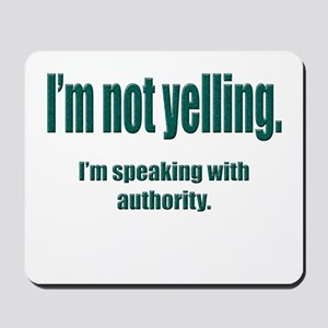 Authority Mousepad