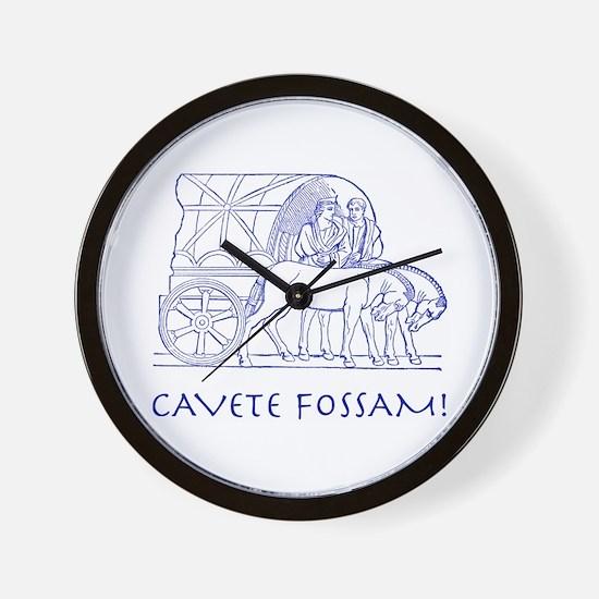 Fossa Wall Clock