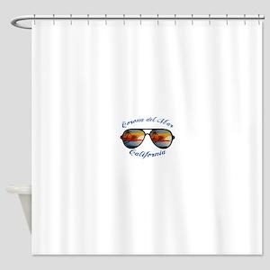 California - Corona del Mar Shower Curtain