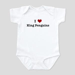 I love King Penguins Infant Bodysuit