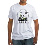 Panda Bear Fitted T-Shirt