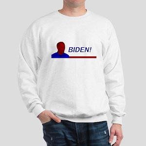 Biden! Red White and Blue Sweatshirt