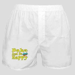 Bake And Be Happy Boxer Shorts