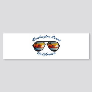 California - Huntington Beach Bumper Sticker