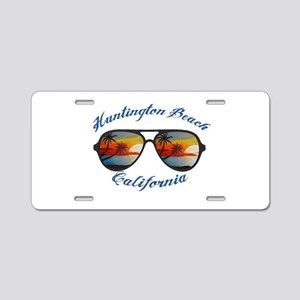 California - Huntington Bea Aluminum License Plate