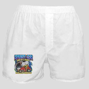 Sprint Car Life Boxer Shorts