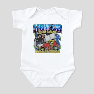 Sprint Car Life Infant Bodysuit