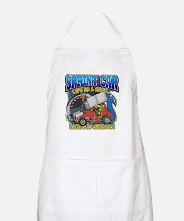 Sprint Car Life BBQ Apron
