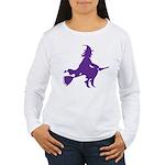 Halloween Witch Women's Long Sleeve T-Shirt