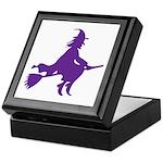 Halloween Witch Keepsake Box