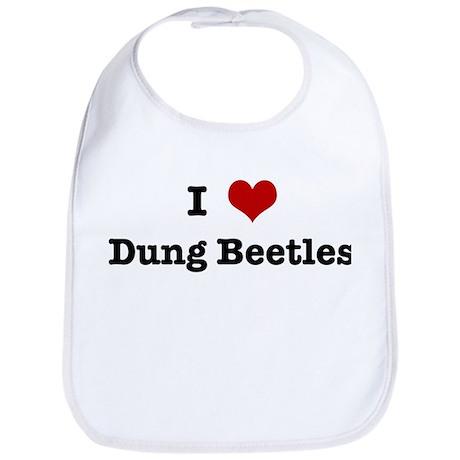 I love Dung Beetles Bib
