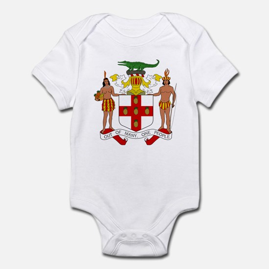 Jamaica Coat Of Arms Infant Body Suit
