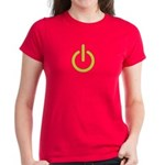 Power Symbol Women's Dark T-Shirt